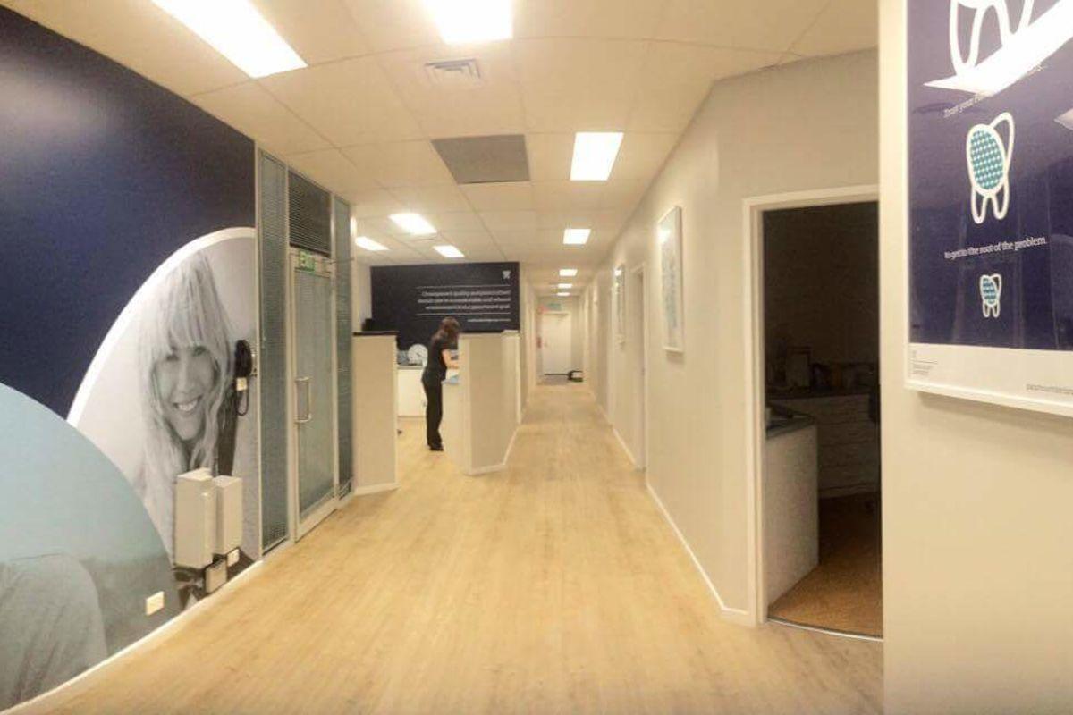Purpose built clinic with designated Sterilisation Room