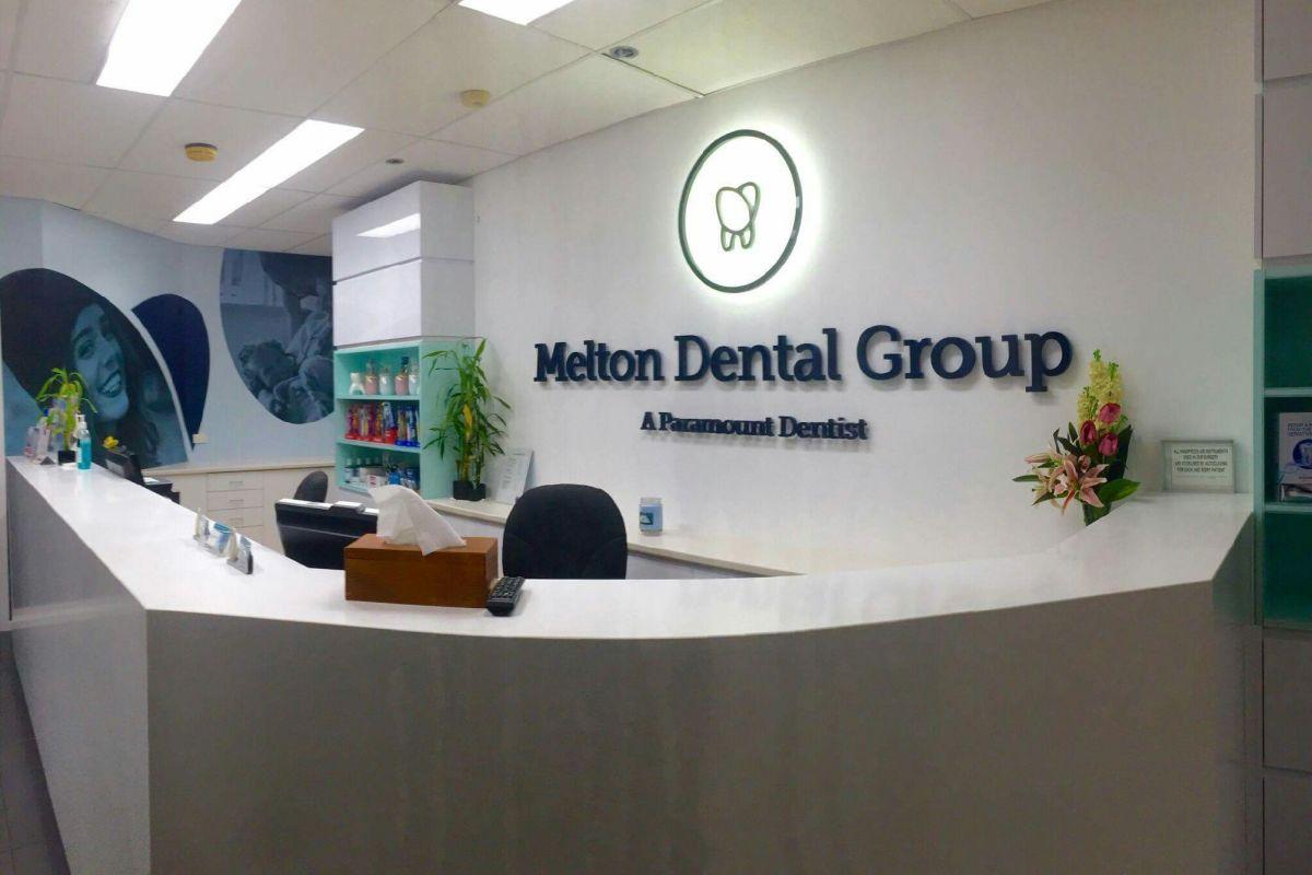 Melton Dental Group inviting Reception